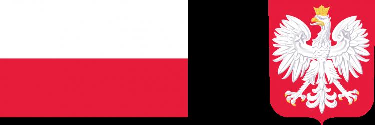 flaga i godło na www