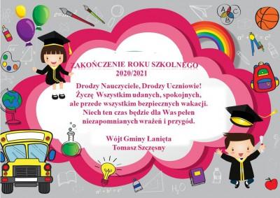 Życzymy wszystkim Dzieciom udanych i bezpiecznych wakacji!