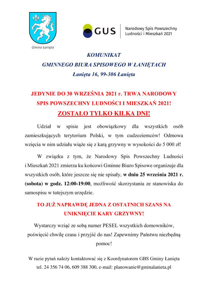 stanowisko-do-samospisu-urząd-sobota-25.09.2021-r.